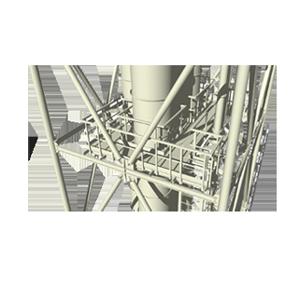 обслуживания промышленных агрегатов, дымовых труб, аппаратов НПЗ (нефтеперерабытывающих заводов)