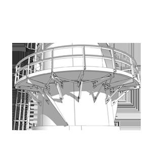 проекты производства работ (ППР) для монтажа вертикальных резервуаров и дымовых труб